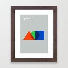 Syncretism Framed Art Print