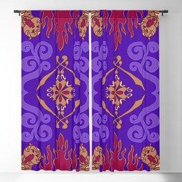 Aladdin Purple Magic Carpet Blackout Curtain