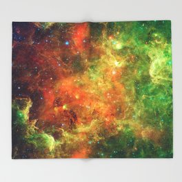 Star Cluster Throw Blanket