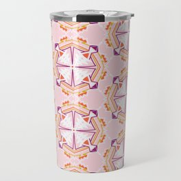 apache, tribal pattern in pink Travel Mug