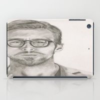 ryan gosling iPad Cases featuring Ryan by Kristy Holding
