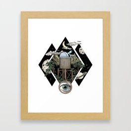 Through the looking glass and what i found there Framed Art Print
