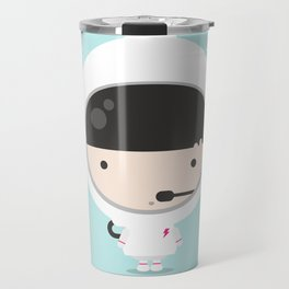 Miss Astronaut 1 Travel Mug