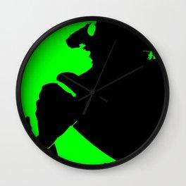 Abstract Hornet Wall Clock