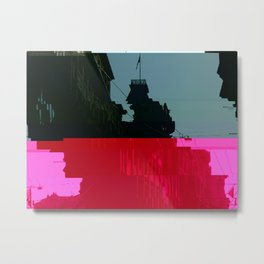 Trieste Glitch 01 Metal Print
