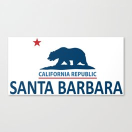 Santa Barbara.  Canvas Print