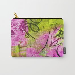 Abstract graffiti texture Carry-All Pouch