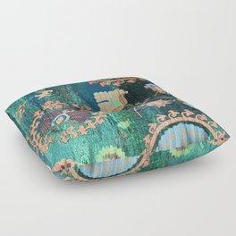 PATCHWORK PATTERN CASA VERDE ART Floor Pillow