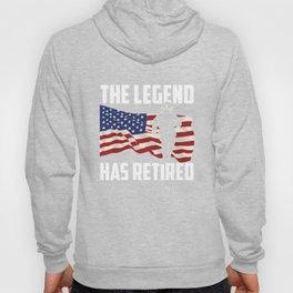 The Legend Has Retired Hoody