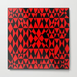 Red Black-22 Metal Print
