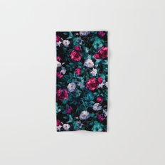 RPE FLORAL ABSTRACT III Hand & Bath Towel