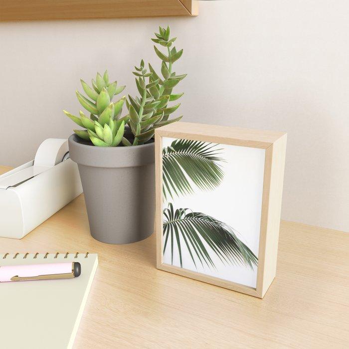 Fronds Framed Mini Art Print
