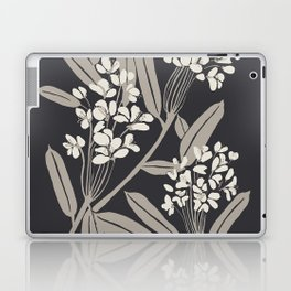 Boho Botanica Black Laptop & iPad Skin