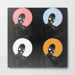 Femmes. Metal Print