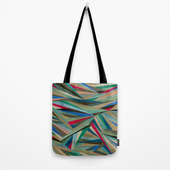 Travel Fragments Tote Bag