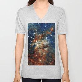 30 Doradus - Tarantula Nebula Unisex V-Neck