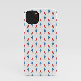 Popsicle Pattern - Rocket Pop #134 iPhone Case