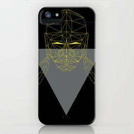 polygon head iPhone Case