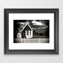 The Tiny Church Framed Art Print