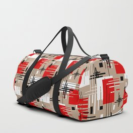 Abstract pattern Ретро1 Duffle Bag