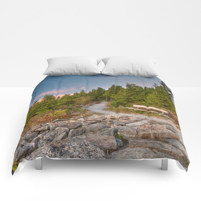 Spruce Knob Twilight Trail Comforters