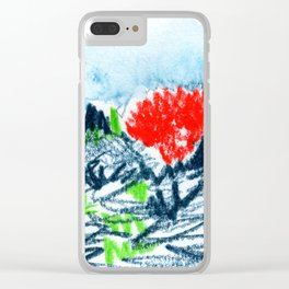 here comes the sun I Clear iPhone Case