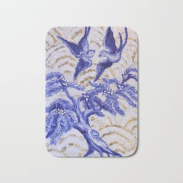 Blue Willow Bath Mat