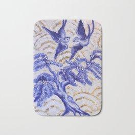 Blue Willow Bath Mat