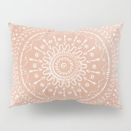 Geometric tribal mandala Pillow Sham