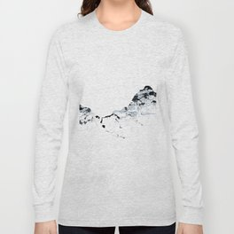 MOUNT MYTHEN MOUNTAINSPLASH grey Long Sleeve T-shirt