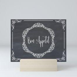 Bon Appetit #bonappetit#eatbemerry Mini Art Print
