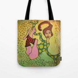 Jumbled Life Tote Bag