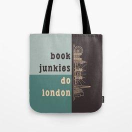 Book Junkies do London Tote Bag