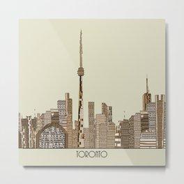 Toronto city vintage  Metal Print