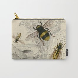 Naturalist Bee And Wasps Carry-All Pouch