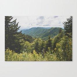 Smoky Mountain Haven - Nature Photography Canvas Print