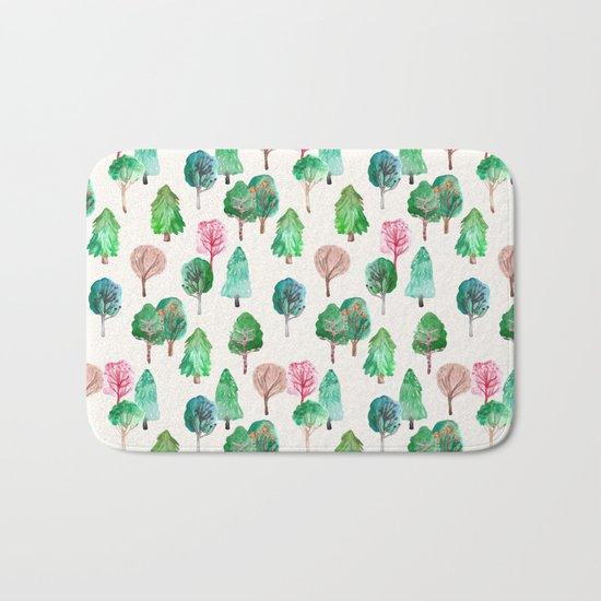 Little Trees Bath Mat