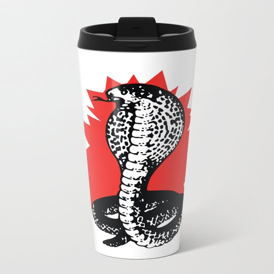 SNAKE 2 Metal Travel Mug