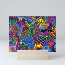 hop skip Mini Art Print