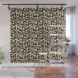 Yellow Leopard Wall Mural