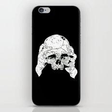 Skull In Hands iPhone & iPod Skin