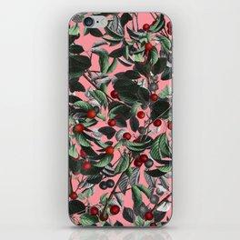 Vintage Fruit Pattern IV iPhone Skin