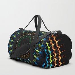 Decorative tribal Mandala artwork Duffle Bag