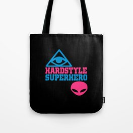 Superhero rave quote Tote Bag