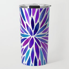 Lavender Burst Travel Mug
