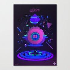 La Roulette Canvas Print