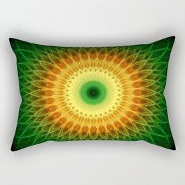 Dragon Eye Mandala Rectangular Pillow