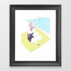 Dip Framed Art Print