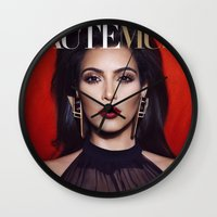 kardashian Wall Clocks featuring Kim Kardashian West by I Love Decor