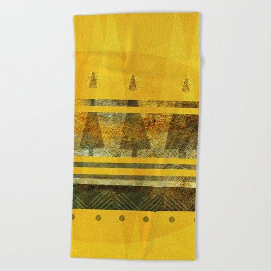 Native Beach Towel